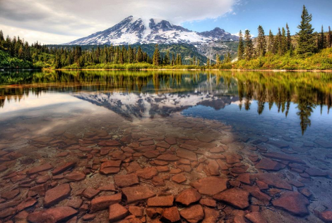Lac Bench Washington USA
