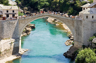 Pont Stari Most - Mostar - Bosnie Herzégovine